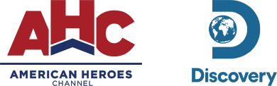 American Heroes Discovery logos